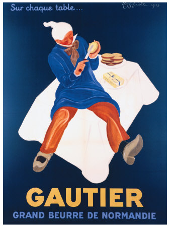 Beurre Gautier Giclee Print by Leonetto Cappiello
