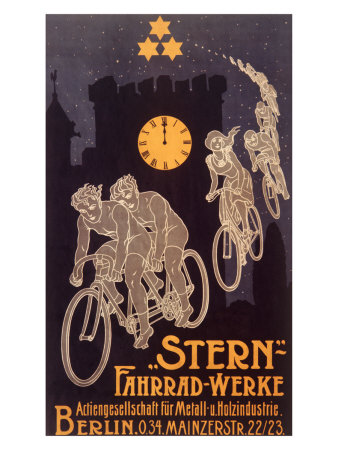 Stern Bicycle Works Ghost Gicleetryck