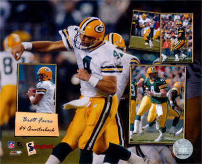 Brett Favre - 2005 Scrapbook Photo