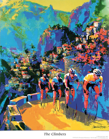 The Climbers Posters by Malcolm Farley