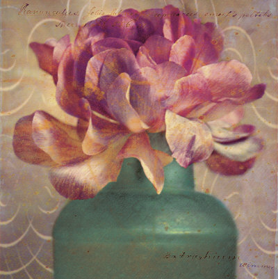 Floral Study III Posters by Sally Wetherby