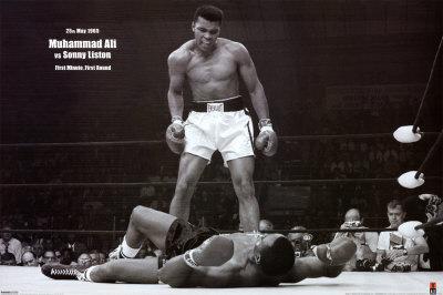 Muhammad Ali vs. Sonny Liston Póster