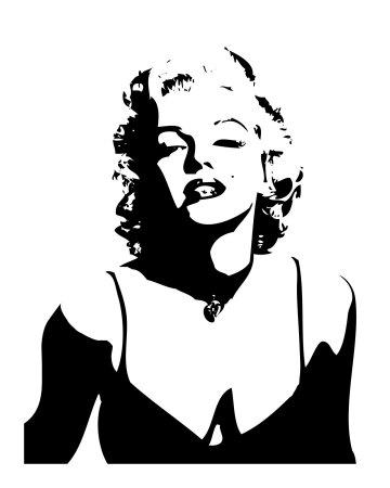Marilyn Monroe Portrait Plakaty_i1639848_