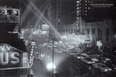 Hollywood Boulevard Posters