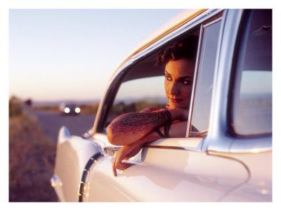 tattooed pin up models. Pin-Up Girl: Cadillac Tattoo