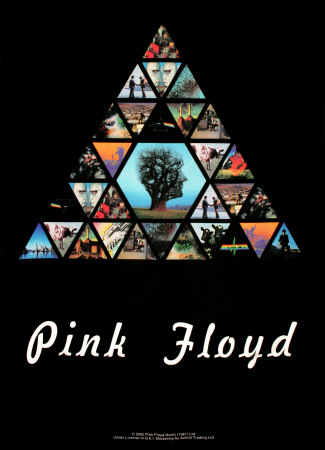 Pink Floyd Fabric Poster