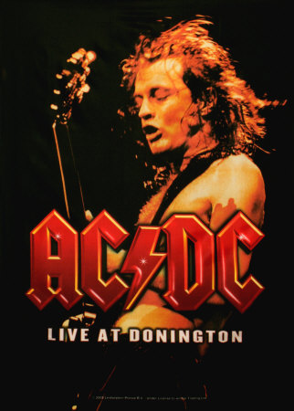 ac dc posters at. Black Bedroom Furniture Sets. Home Design Ideas