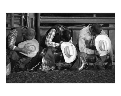 Praying Cowboys Photographie