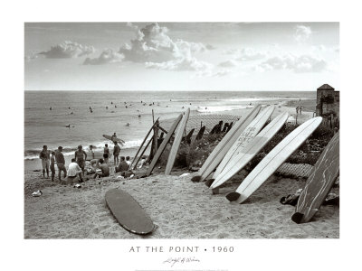 At the Point, 1960 Poster by Leigh Wiener