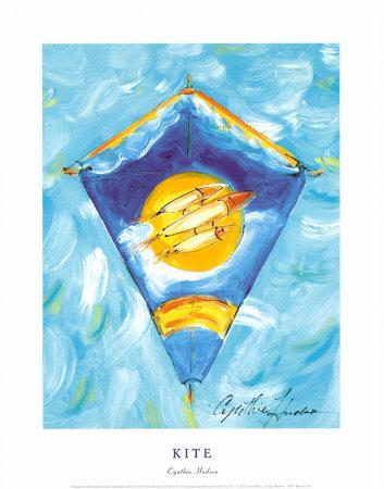 Kite Prints by Cynthia Hudson