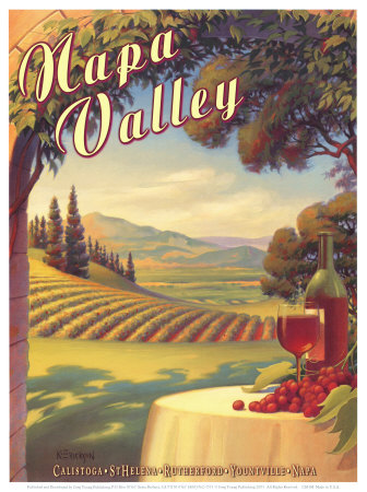 Napa Valley Art Print
