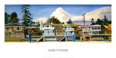 Miramar Beach Posters by Hank Pitcher
