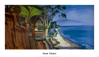Butterfly Beach Poster by Hank Pitcher