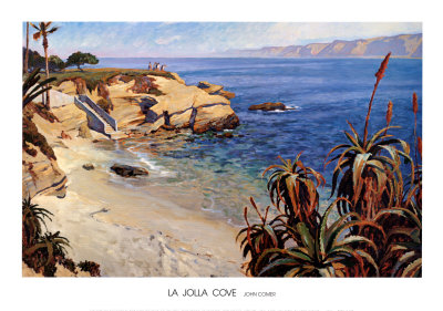 La Jolla Cove Reproduction d'art