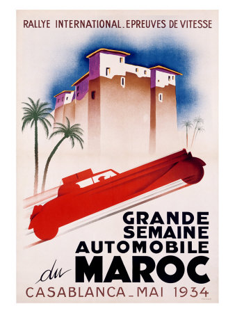 Casablanca International Rally Giclee Print