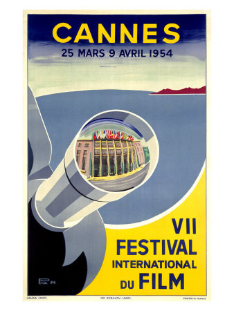 Cannes, VII Festival International du Film, 1954 Giclee Print by  Archivea Arts