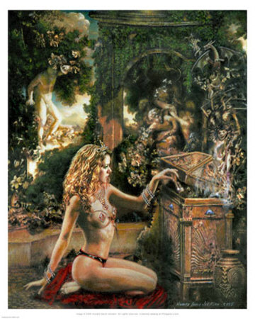 Pandora's Box MMV Prints by Howard David Johnson at AllPosters.