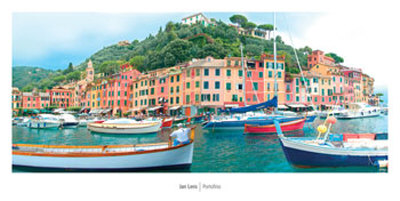 Portofino Posters by Jan Lens