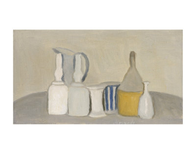 Still Life of Bottles and Pitcher, 1946 Lámina