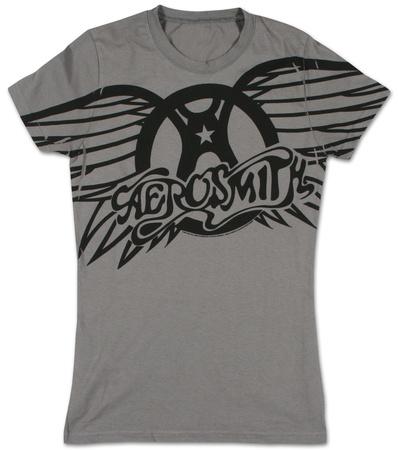 Juniors: Aerosmith - Winged Logo T-Shirts