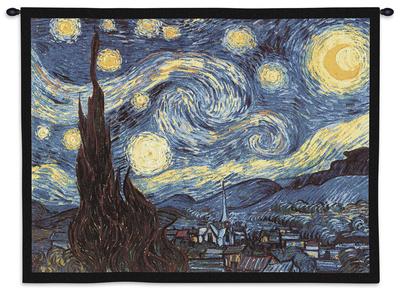 Noche estrellada, c.1889 Tapiz