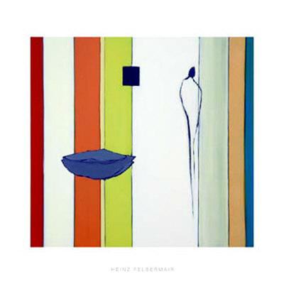 Multicolored, c. 2005 Serigraph by Heinz Felbermair