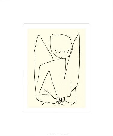 Vergesslicher Engel, c.1939 Serigraph by Paul Klee