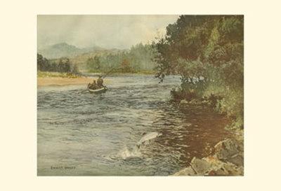 Salmon Fishing Prints by Ernest Briggs