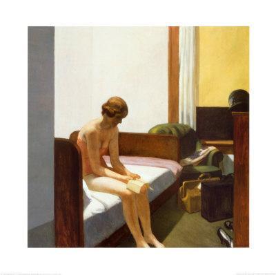 Hotel Room, c.1931 Art by Edward Hopper