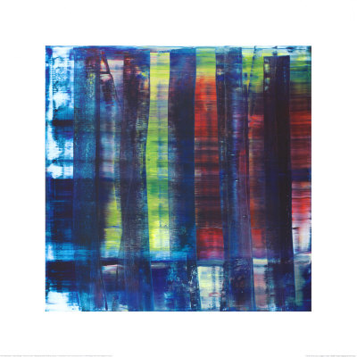 Abstract Painting, c.1992 Kunsttryk