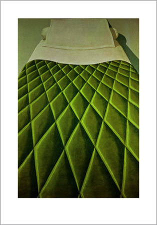 Green Bed Cover, c.1969 Posters by Domenico Gnoli