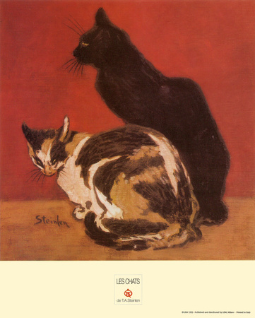 Cats, 1910 Art Print