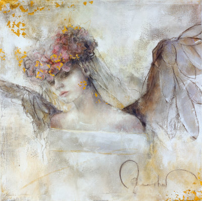 Flower Angel Art Print