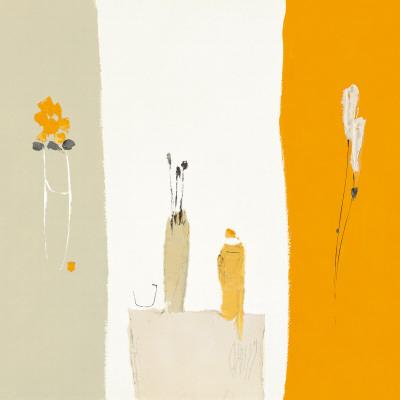 Bouquet de Printemps dans L'Atelier I Prints by Christian Choisy