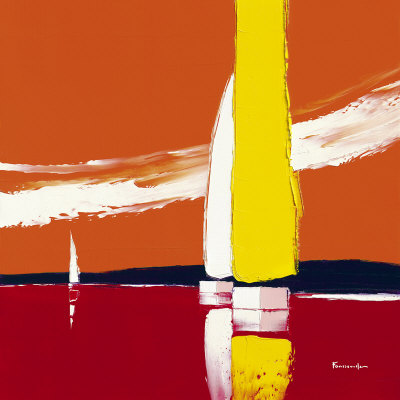 The Yellow Sail Posters by Guy Fontdeville