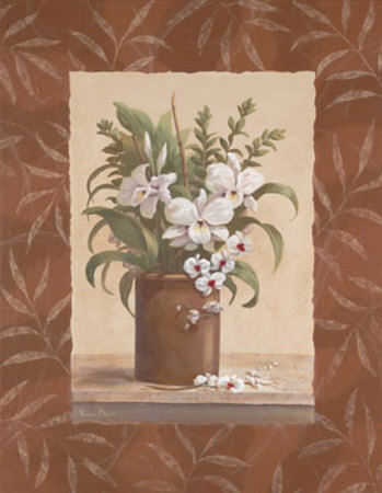 Sylvia's Orchids I Prints by Vivian Flasch