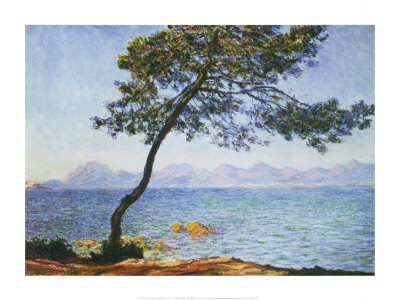 Antibes Print by Claude Monet