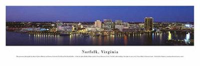 Norfolk, Virginia Print by James Blakeway