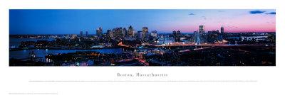 Boston, Massachusetts Print by James Blakeway