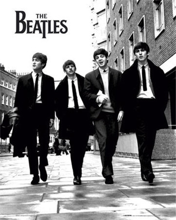 The Beatles Mini Poster