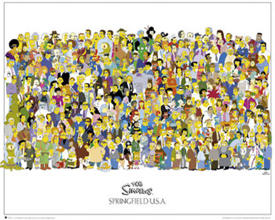 The Simpsons Mini Poster