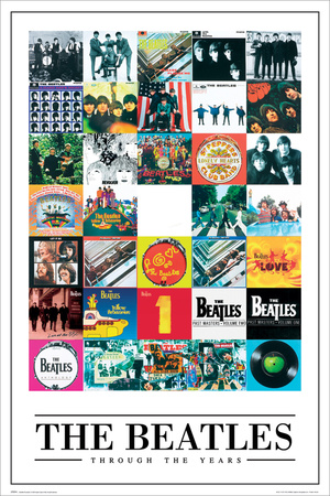 The Beatles - Through The Years Posters