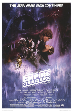 Star Wars - Episode V Empire Strikes Back - Classic Movie Poster