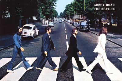 The Beatles Plakat