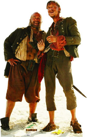 Disney's Pirates of the Caribbean - Pirate Duo (Pintel and Ragetti) Cardboard Cutouts