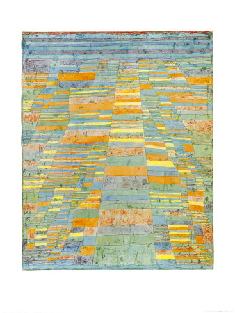 Primary Route and Bypasses, c.1929 Prints by Paul Klee