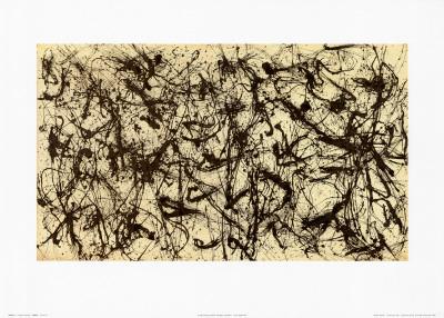 No. 32, c.1950 Art by Jackson Pollock