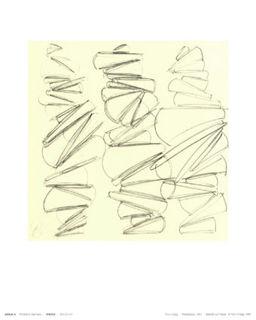Back Bone, c.1997 Posters by Tony Cragg