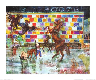 Hotel Jugend, c.2002 Prints by Daniel Richter