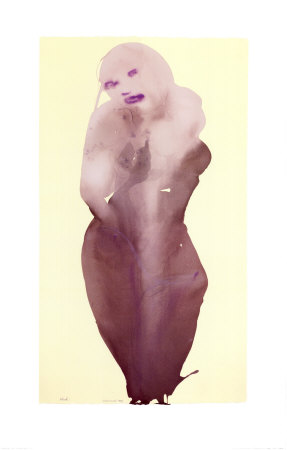 West, c.1997 Prints by Marlene Dumas